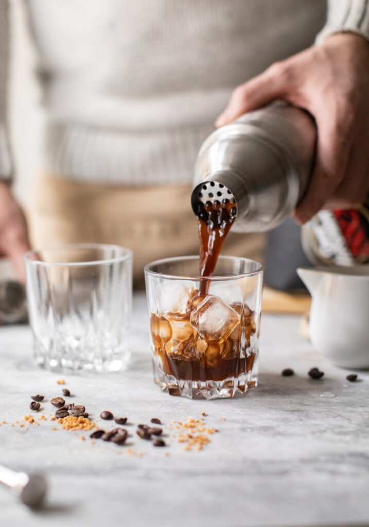 TWO IS MEGLIO CHE ONE: cold brew coffee e un affogato cocktail al caffè, rum e amaretto